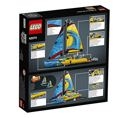 LEGO Technic Racing Yacht 42074 Building Kit (330 Pieces) (Discontinued by Manufacturer)