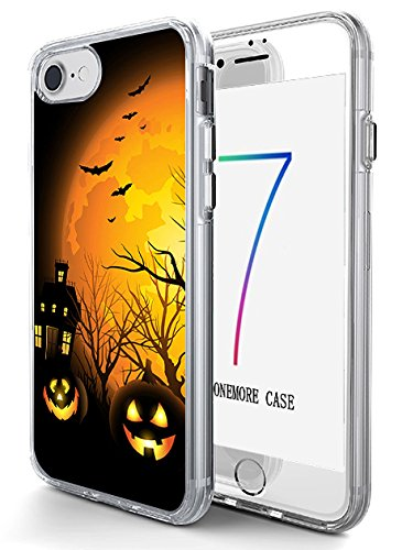 [Hard Back Case Cover Shell for iPhone 7 4.7 Inch Halloween Night] (Hard Halloween)