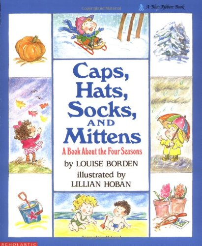 A Book About The Four Seasons Caps, Hats, Socks, and Mittens