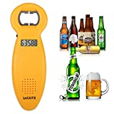 3PCS LAGUTE Beer Counting Tracker Bottle Opener, Kitchen Party Gadget Beer Tally Gift (Yellow)