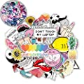 86 Vinyl Stickers Pack For Laptop Water Bottles Teen Girls Trendy Aesthetic Cute Laptop Decal Stickers Waterproof