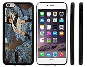 lintao diy Rikki KnightTM Mary Cassatt Art Small Girls in the Blue Armchair Design iPhone 6 Plus Case Cover (Black Rubber with front bumper protection) for Apple iPhone 6 Plus Kimberly Kurzendoerfer