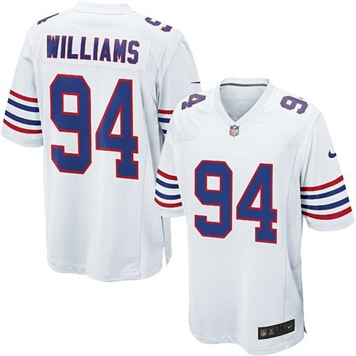 Image Unavailable. Image not available for. Color  NIKE NFL Buffalo Bills  Mario Williams  94 Youth White Alternate Game Day Jersey a1ae4cf33fd