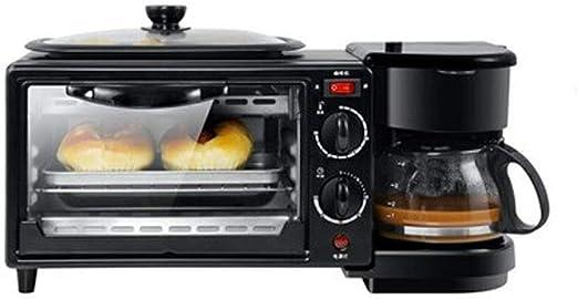 LSS Máquina de Desayuno doméstica 3 en 1, Horno Tostador ...