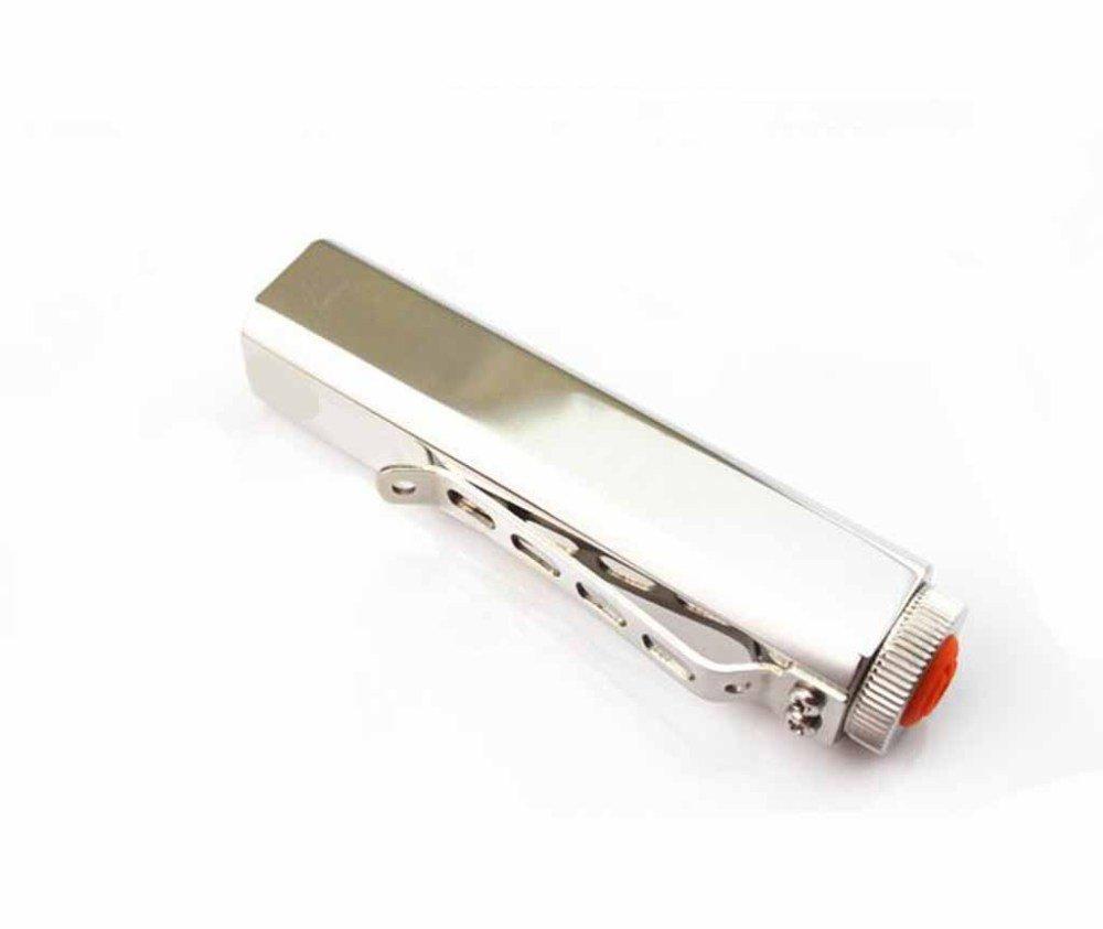 Kaxima LED Taschenlampe Square Edelstahl Taschenlampe Cree Starkes Licht Hochleistungs-3w14500 und 5.