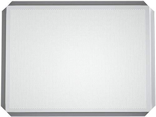 LEHRMANN Bakplaat geperforeerd 44,5 x 37,5 cm gebakplaat geperforeerd pizzabaal voor oven Bauknecht whirlpool