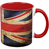 Best Old Glory Grunge Apparel Items - British Flag Union Jack Grunge Distressed Red Handle Review