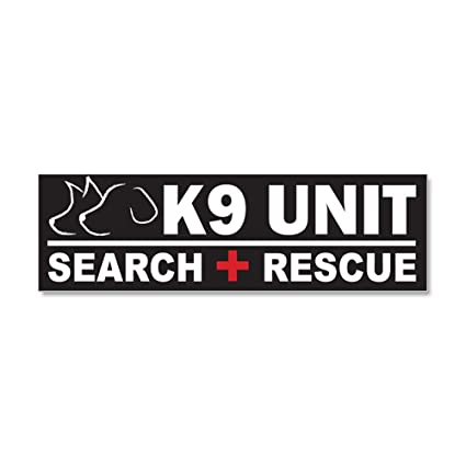 Cafepress k9 unit sar search rescue car magnet 10 x 3 car magnet 10