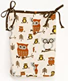 Cotton Tale Designs Whoo's There Diaper Stacker