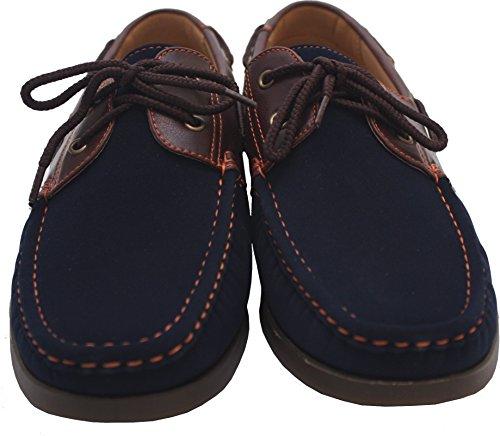 CoolersM104 - Deck shoes hombre Navy/Brown
