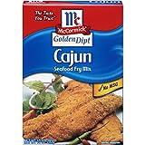 McCormick Golden Dipt Cajun Style Seafood Fry Mix, 10 oz