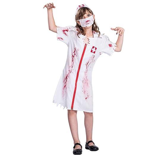 HSKS - Disfraz de Enfermera de Halloween para una Variedad de ...