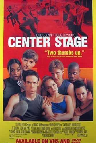 Center Stage Video 27X40 Amanda Schull Poster