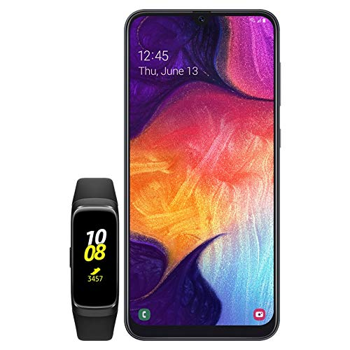 Samsung Galaxy A50 US Version Unlocked Smartphone with 64GB Memory, 6.4