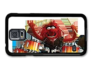 Kingsface The Muppets Animal Drummer Playing Drums Funny White Background KVSCND1kMLv case cover for Samsung Galaxy S5