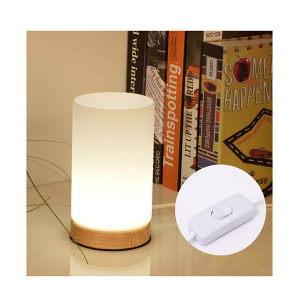 Amazon.com: PPWAN Table Lamp Simple Warm Small Table Lamp Bed Desk Lamp Warm Color Night Light Soft Light Study Desk Lamp Reading -2835 Table lamp (Color ...