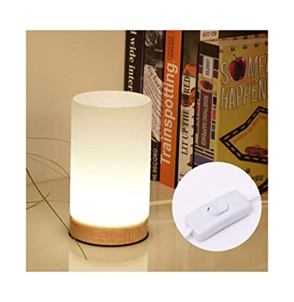 Amazon.com: PPWAN Table Lamp Simple Warm Small Table Lamp ...