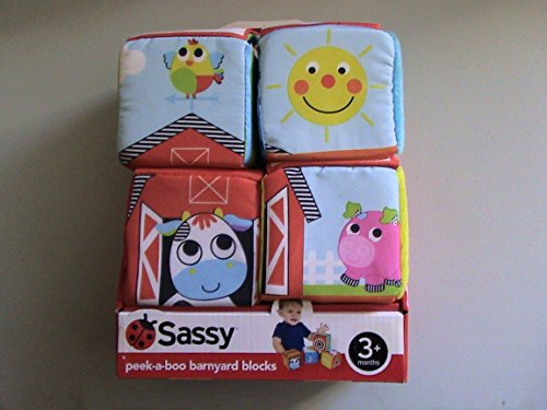 Soft Farm Puzzle Blocks (Set of 4)