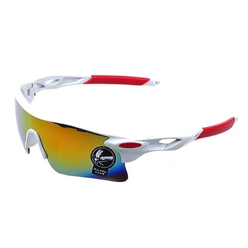 Highdas vidrios de ciclo de los deportes de la bici Conducci¨®n Pesca gafas de sol de la motocicleta...