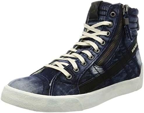 Diesel Men's D-Velows D-String Plus Denim Fashion Sneaker