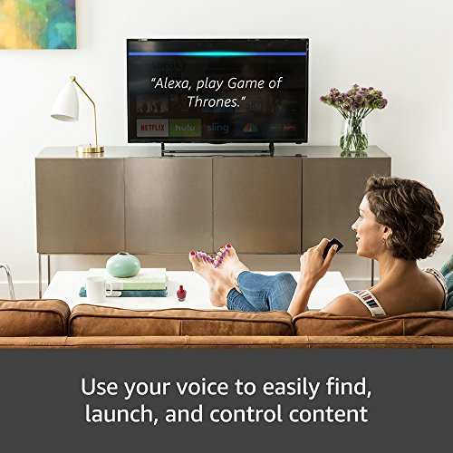 All-new Fire TV with 4K Ultra HD and Alexa Voice Remote (Pendant Design) | Streaming Media Player