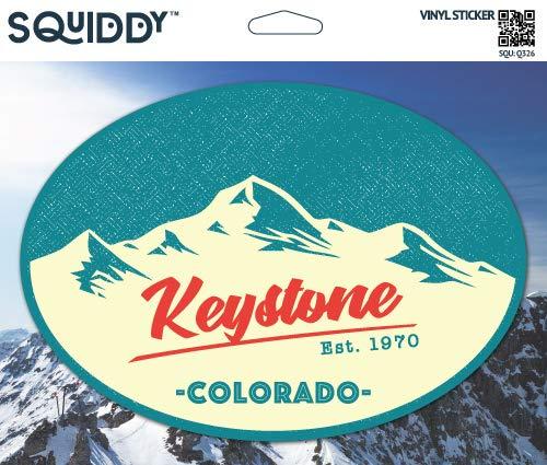 Squiddy Keystone Colorado - Vinyl Sticker Decal for Phone, Laptop, Water Bottle (3