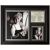 Legends Never Die Marilyn Monroe Makeup Framed Photo Collage, 11x14-Inch