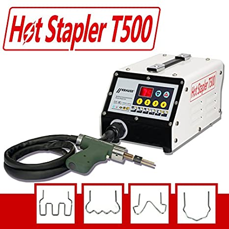 Plástico Reparación Sistema, plástico grapas, Reparar Hot stapler T500: Amazon.es: Bricolaje y herramientas
