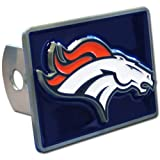 Siskiyou Denver Broncos NFL Hitch Cover, Class II & III