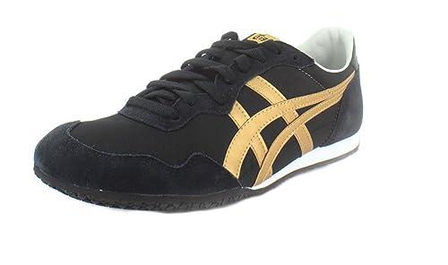 a7a84339ae74d Onitsuka Tiger Hombres Serrano Bajos   Medios Cordon Piel Zapatos para  Correr