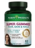 SUPER GUMMIES – Hair, Skin & Nails Elite Blend – Delicious and Nutritious – 60 count gummy vitamins from Purity Products Review