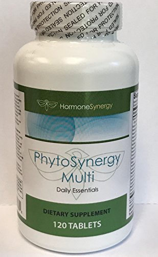 PhytoSynergy Multi w/o Iron | 120 Tablets | Vitamins and Minerals Enhanced w/bioactive Plant compounds – Lutein, Zeaxanthin, Lycopene, and Resveratrol | Review