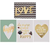 LOOKING FOR THE PERFECT GIFT?  LOOK NO FURTHER.  Create a whole new look and environment with these precious canvases Set of 4 Easy to hang Wall Decor  soft fresh colors for baby or kids room