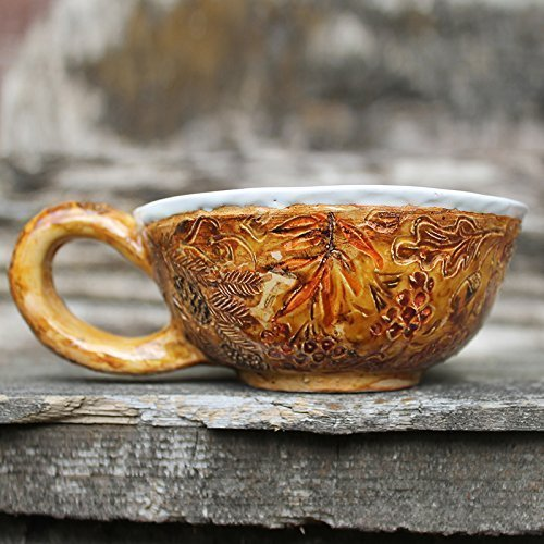 artistic-ceramic-soup-mug-with-handle-hand-painted-carved-ceramic-soup-bowl-food-safe-glaze-rustic-t