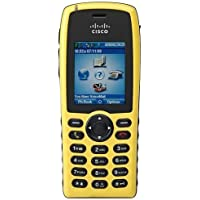 Cisco CP-7925G-EX-K9= IP Phone -Yellow (2 Display, Water Resistant, 802.11a/b/g, Speakerphone, HD Voice)