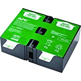 APC UPS Replacement Battery Cartridge for APC UPS Models BR1500G, BR1300G, SMC1000-2U and select others (APCRBC124)