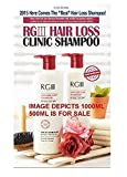 520ml x 2 PACK - Hair Regeneration Clinic Shampoo with Purified Red Ginseng Saponin & 6 Naturally Derived Ingredients for Hair Loss / Regrowth / Strengthening / for both Men & Woman by RGIII