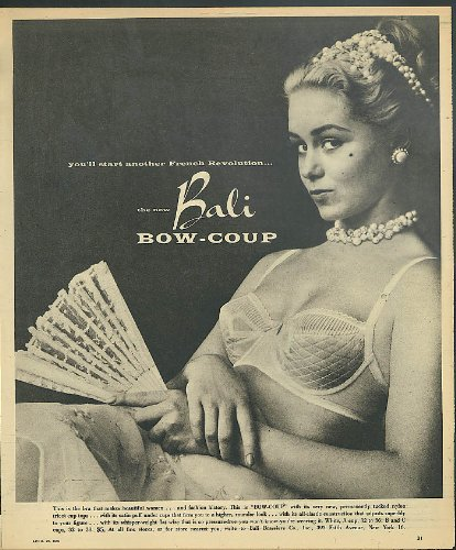Bali Bow (You'll start another French Revolution Bali Bow-Coup Bra ad 1956)