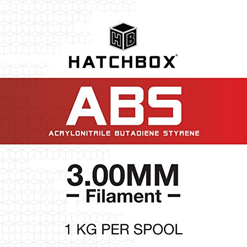 HATCHBOX 3D ABS-1KG3.00-WHT ABS 3D Printer Filament, for sale  Delivered anywhere in Canada