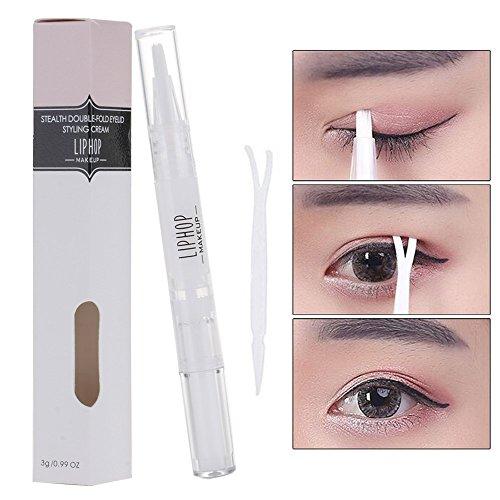 VANKER Invisible Instant Clear Type Double Eyelid Maker Glue Essence Gel Beauty Makeup Tools - Eyelid Gel