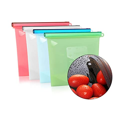 Miruike - Bolsas de silicona reutilizables para ...