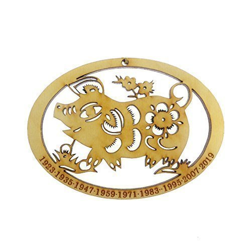 (Chinese Zodiac Pig Ornament - Year of the Pig Ornament)