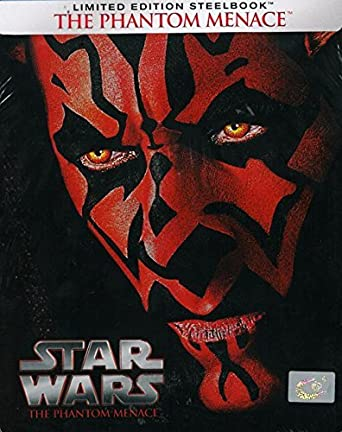 Amazon Com Star Wars Episode I The Phantom Menace Steelbook Blu Ray Movies Tv