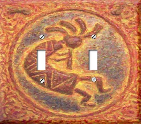 Kokopelli Switchplate - 2