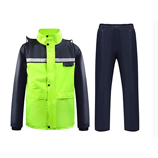 Llsdls Traje Chaqueta Impermeable Impermeable Impermeable ...