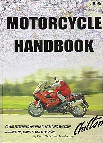 chilton motorcycle handbook manual