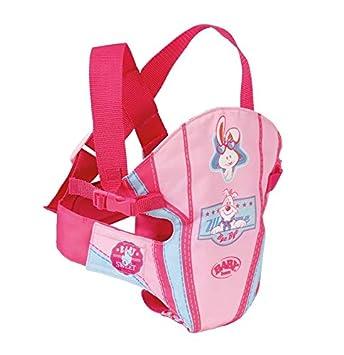 Zapf Baby Born 822234 Portador para muñecas Accesorio para muñecas - Accesorios para muñecas (Portador para muñecas, 3 año(s), Cian, Rosa, 280 mm, 60 ...