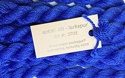 Silk & IVORY-LARKSPUR-101-1 SKEINS with This Listing