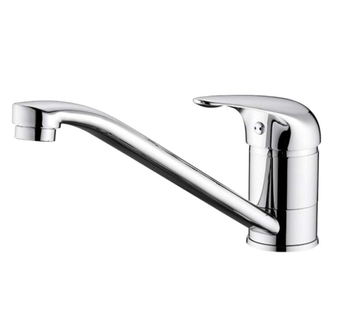 Mucert Badezimmer Küchenarmatur, Alle Kupfer Heiß Und Kalt Waschen gemäße Becken Wasserhahn, Drehbare Becken Wasserhahn.