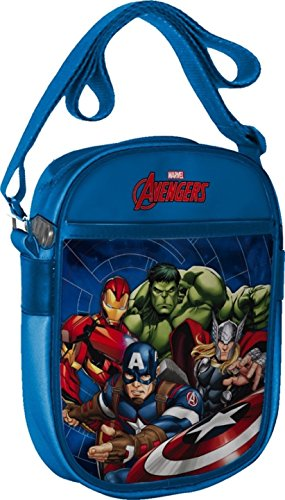 Marvel 41852 Star Licensing Borsa Messenger, 20 cm, Multicolore